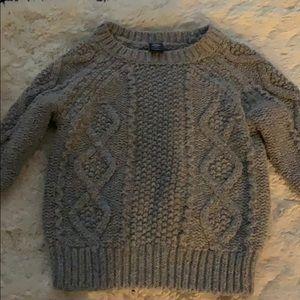 Grey toddler Gap sweater 12-18m